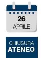 chiusura 26 aprile