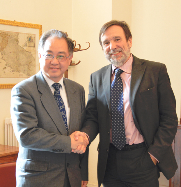 Università di Firenze, protocollo d'intesa con la Tongji University