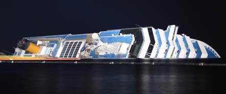 Monitoraggio del dipartimento di Scienze della Terra sulla stabilità della Costa Concordia